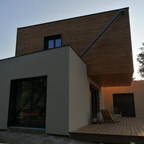 Maison en cours